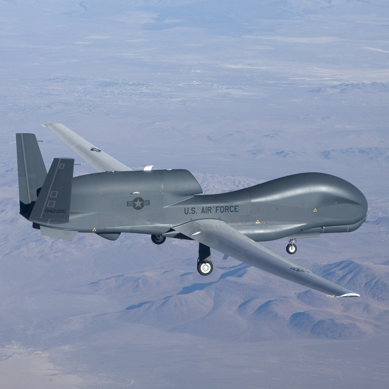 The Air Force's Global Hawk spy drone carries a much heftier price tag than the U-2.