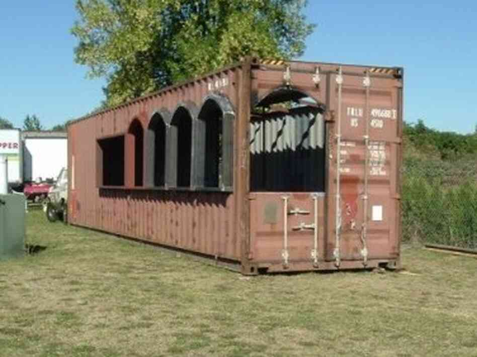 Forget big box stores how about a big box house npr - Freight container homes ...