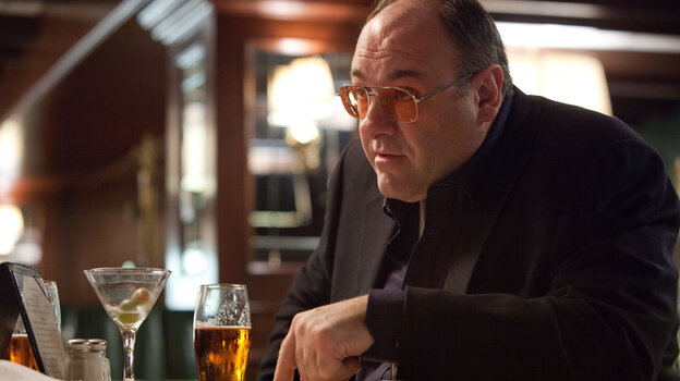"""James Gandolfini is a hard-partying hit man in Killing Them Softly, which critic Raj Ranade says is """"a tight, melancholy mob thriller."""""""