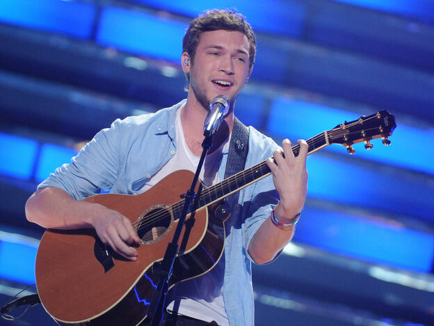 Phillip Phillips was crowned the winner of American Idol on Wednesday night.