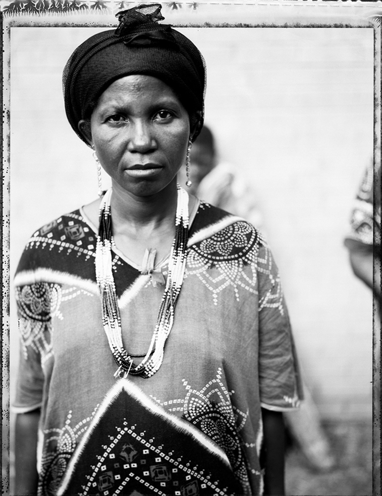 Young Somali Bantu Woman, 2006