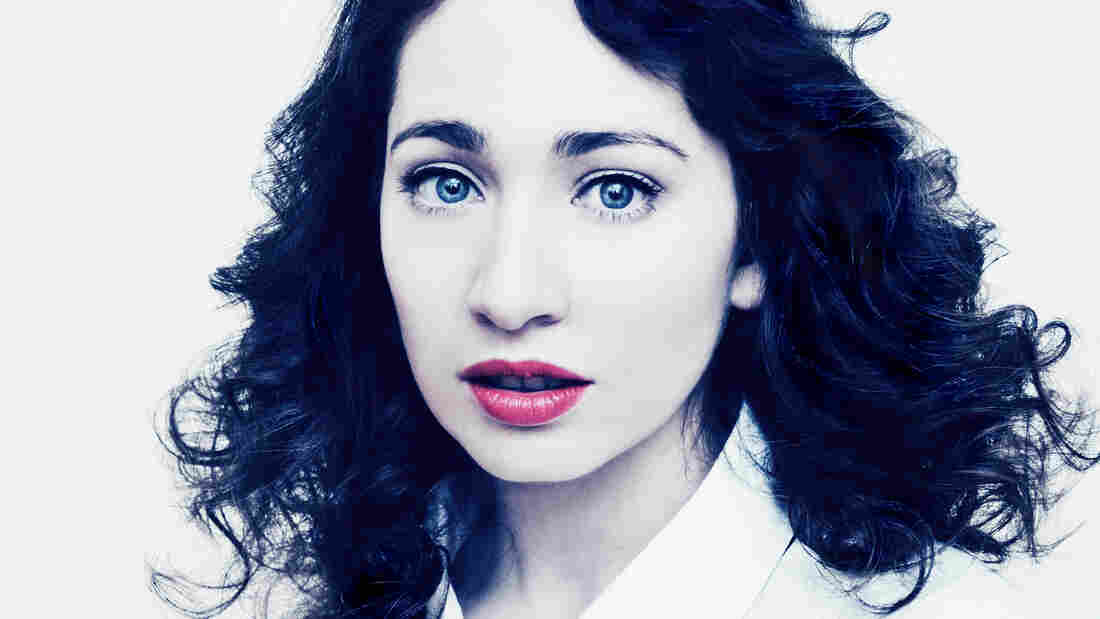 """The songs on What We Saw From the Cheap Seats don't come just from the past year but from a span of """"10 years or more,"""" Regina Spektor says."""