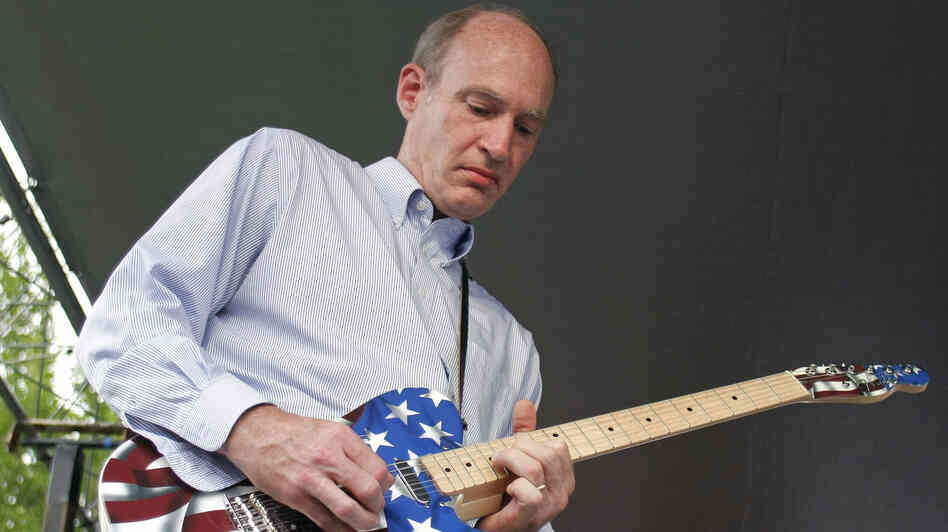 Rep.Thaddeus McCotter, R-Mich., is a regular on Twitter. Here, he plays guitar at a festival last July in Whitmore Lake, Mich.