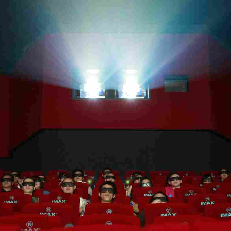 Moviegoers at a 3D IMAX theater in Beijing.