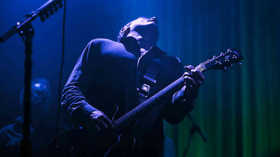 Greg Dulli at the Bowery Ballroom in New York City Wednesday night.