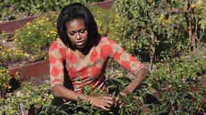 The First Lady Cultivates 'American Grown' Gardening