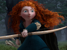 Pixar's Brave follows the independent and courageous Merida (voice by Kelly Macdonald).