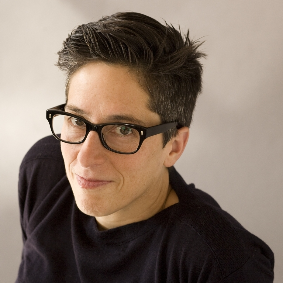 Alison Bechdel is best known for her comic strip Dykes to Watch Out For. She is also the author of the graphic memoir Fun Home.
