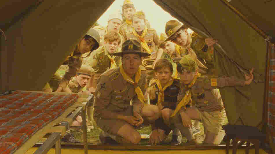 Edward Norton plays a scoutmaster in search of his lost charge in Wes Anderson's latest film, Moonrise Kingdom.