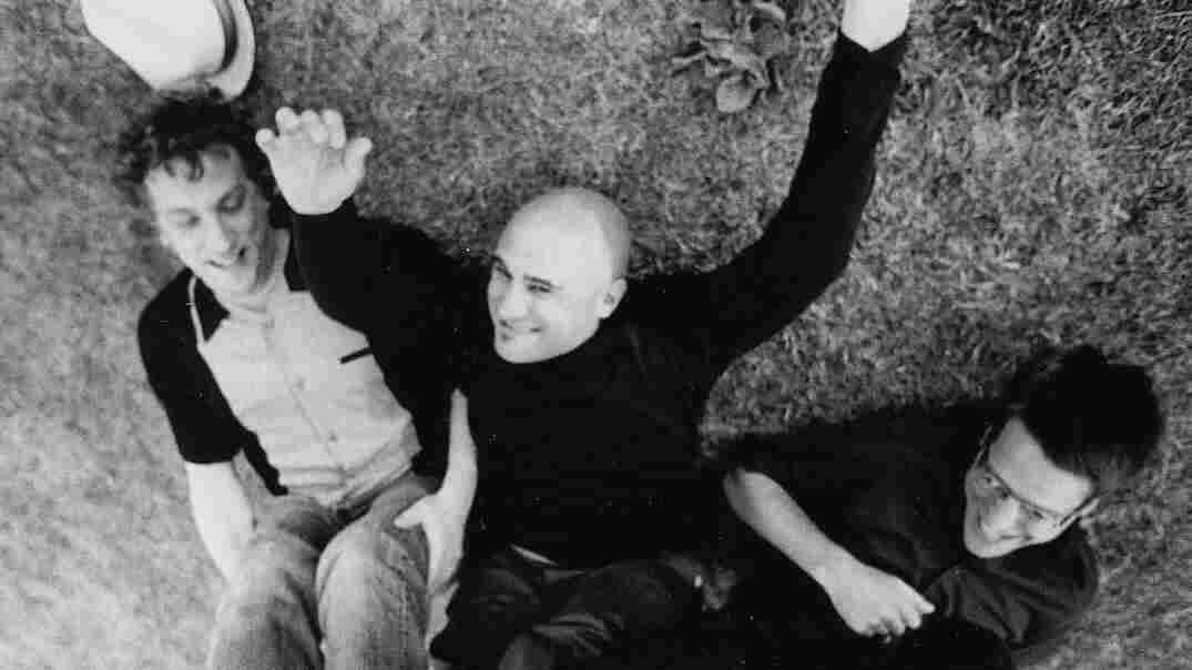 """Twelve years after uploading his band's songs on MP3.com, Jim's Big Ego lead singer Jim Infantino (center) still thinks digital music is """"pretty neat."""""""