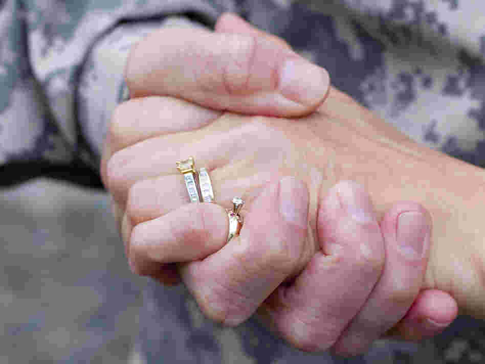 Deployments can stress even the strongest of marriages.