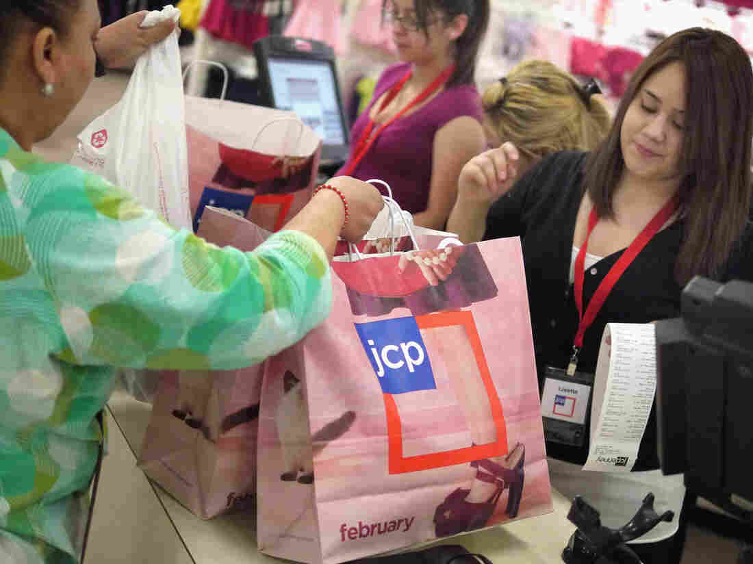If consumers are in the mood to shop, that could give the economy a lift.