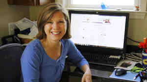 Katherine Leon says she spends up to 12 hours a day  online interacting with others who share her rare heart condition.