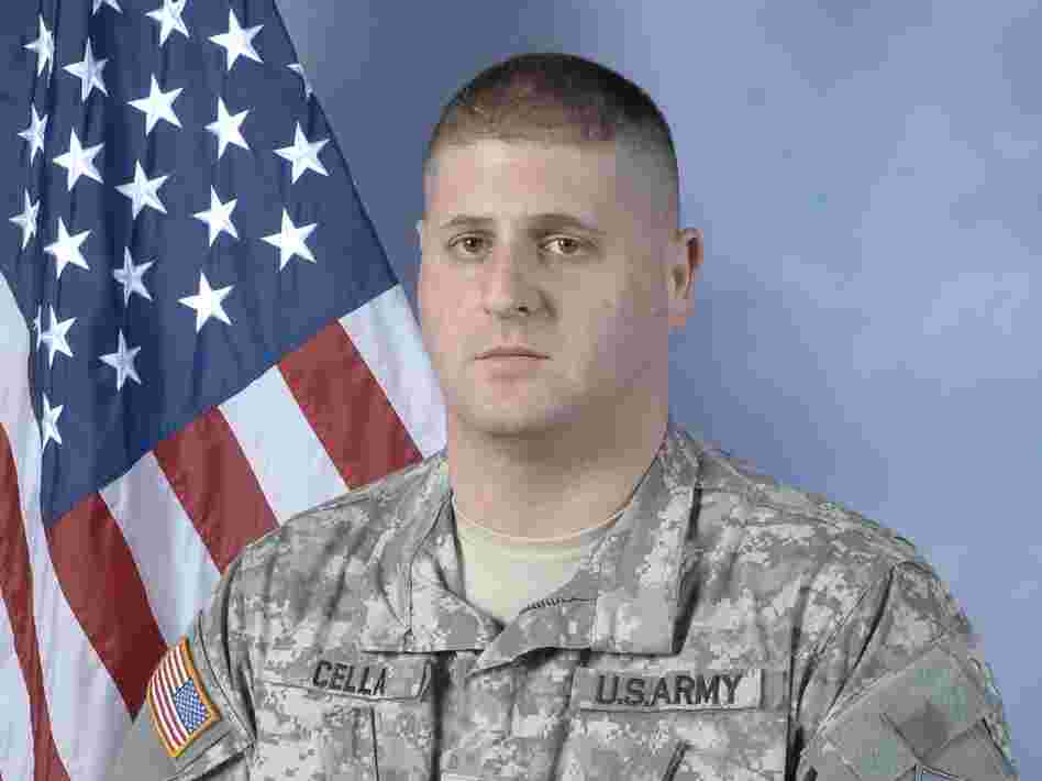 Spc. Michael Cella.