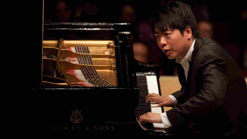 Pianist Lang Lang in recital at Carnegie Hall on May 29, 2012.
