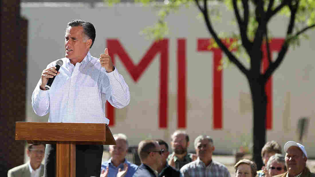 Mitt Romney campaigns Tuesday in Craig, Colo.