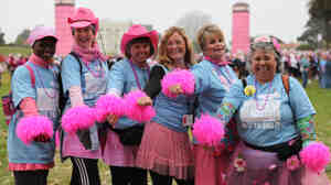 Participants at the 2010 Avon Walk for Breast Cancer, San Francisco, as seen in Pink Ribbons, Inc.