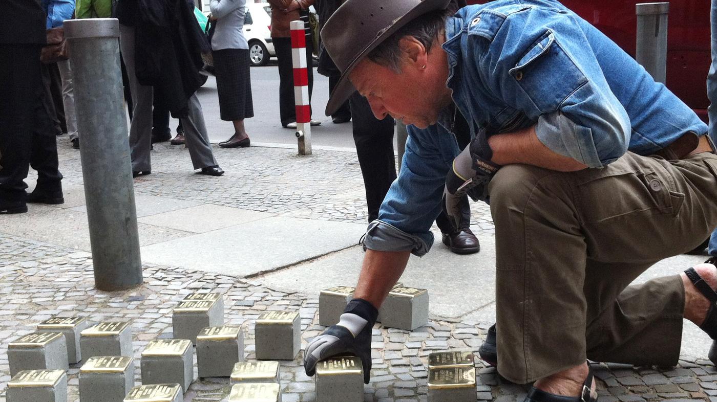 Stumbling Upon Miniature Memorials To Victims Of Nazis : NPR