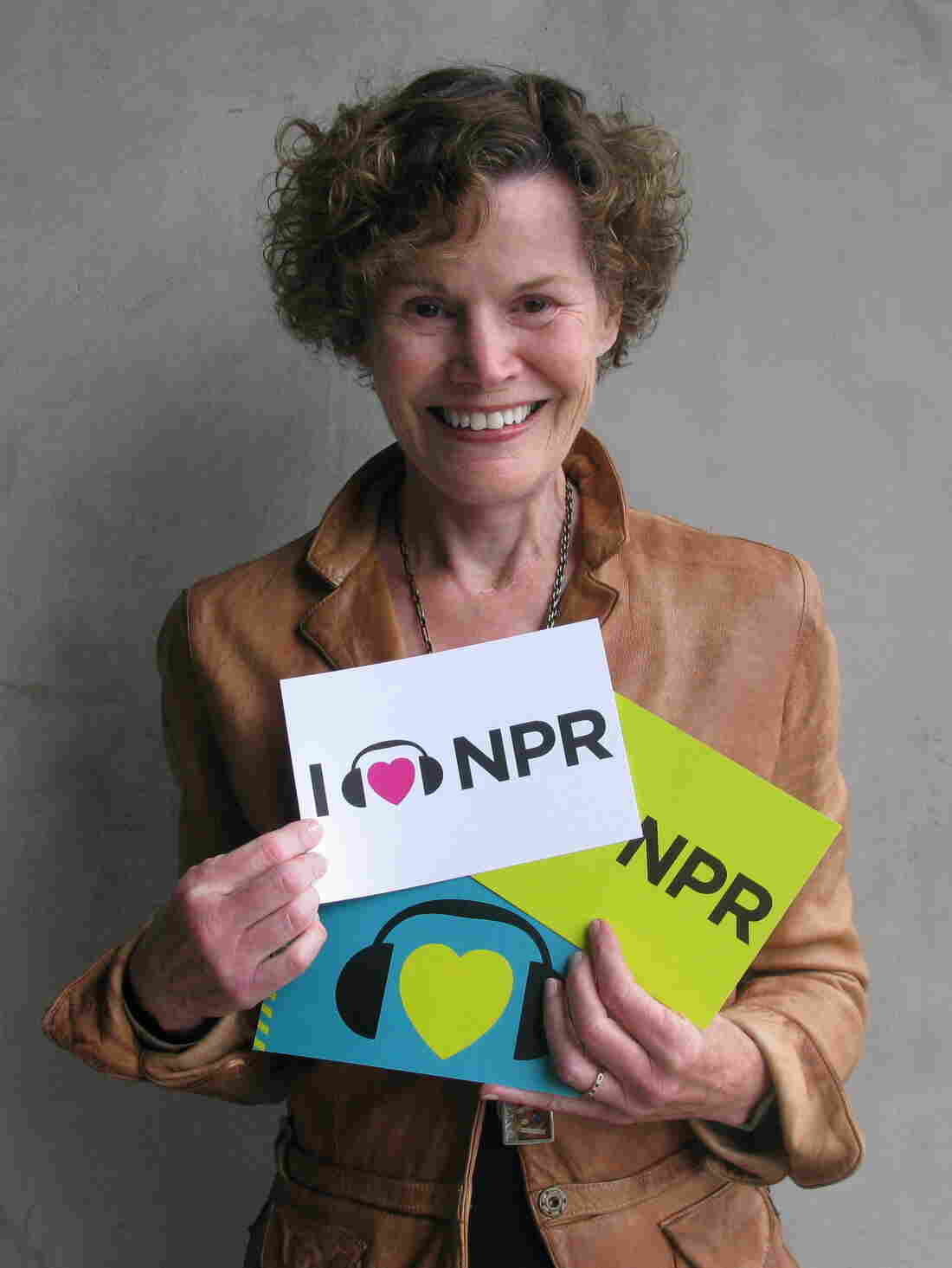 Judy Blume at NPR West.