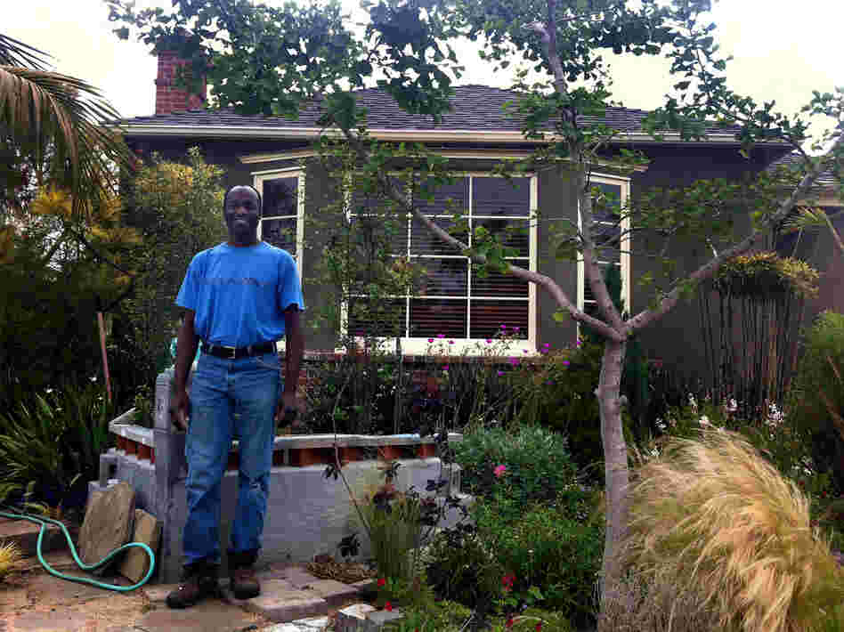 "Kevin Hill, a San Diego landscape designer, was doing well financially before the downturn. Now, he says he feels ""lost."""