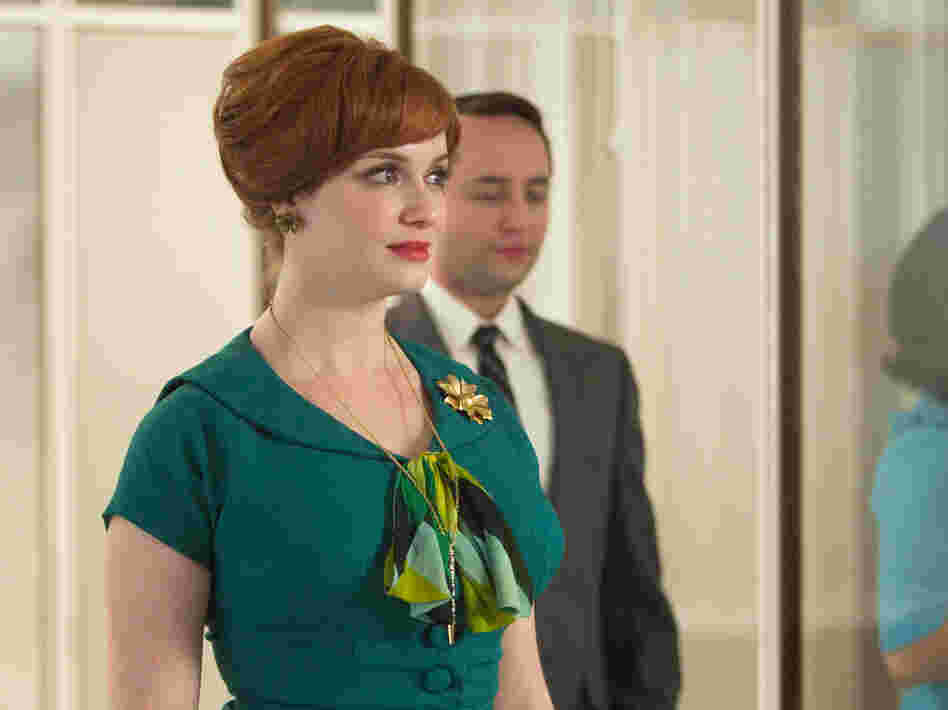 Joan (Christina Hendricks) had a tough week on Mad Men.