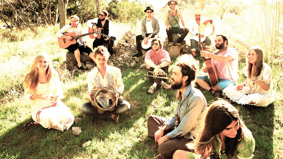 """There is no character, you know?"" Edward Sharpe and the Magnetic Zeros' Alex Ebert says. ""I'm trying to be the most open and powered-by-the-universe version of myself than I can summon."""