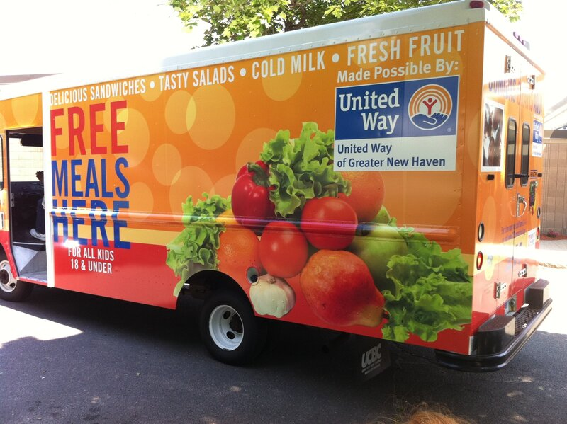 food trucks draw hungry kids for free summer meals the salt npr