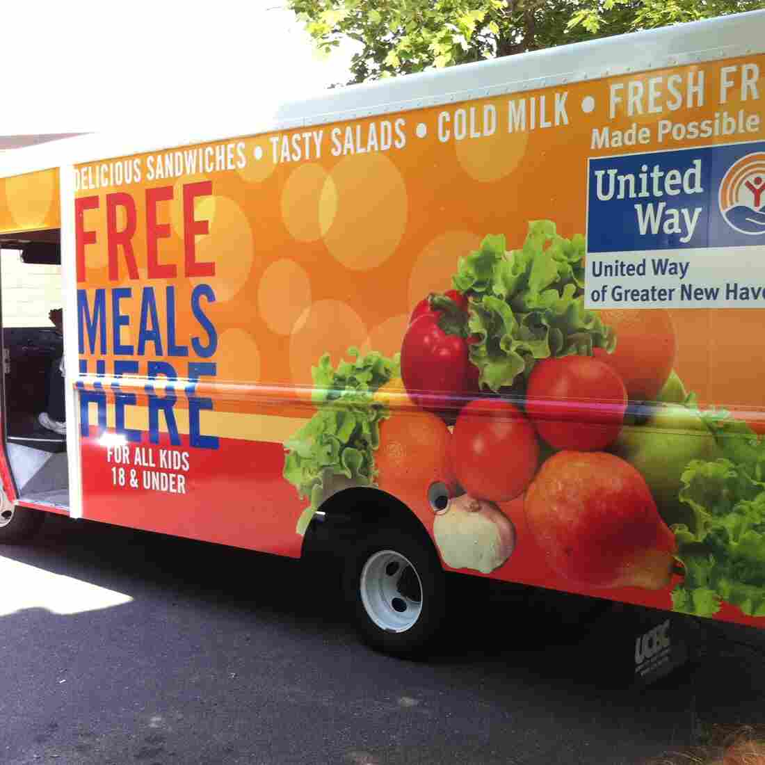 Food Trucks Draw Hungry Kids For Free Summer Meals