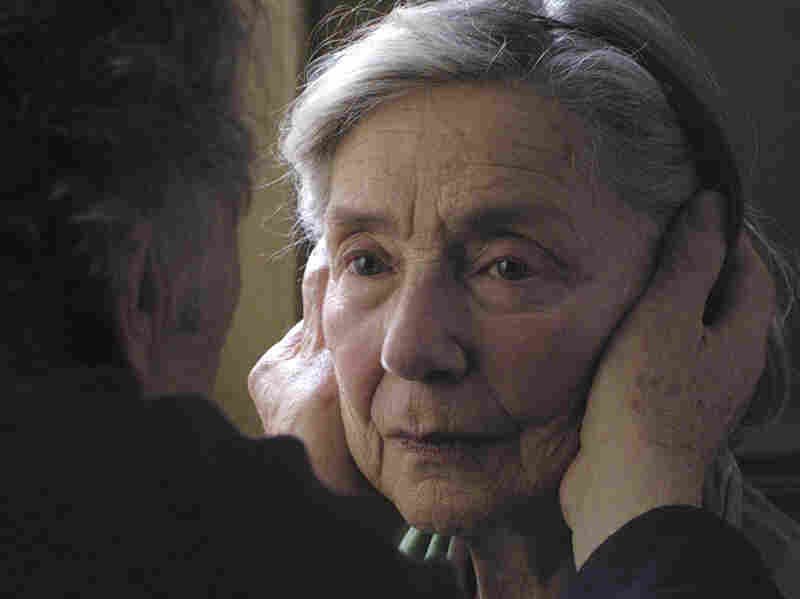 Emmanuelle Riva co-stars in the French film Amour, which won the festival's Palme d'Or.