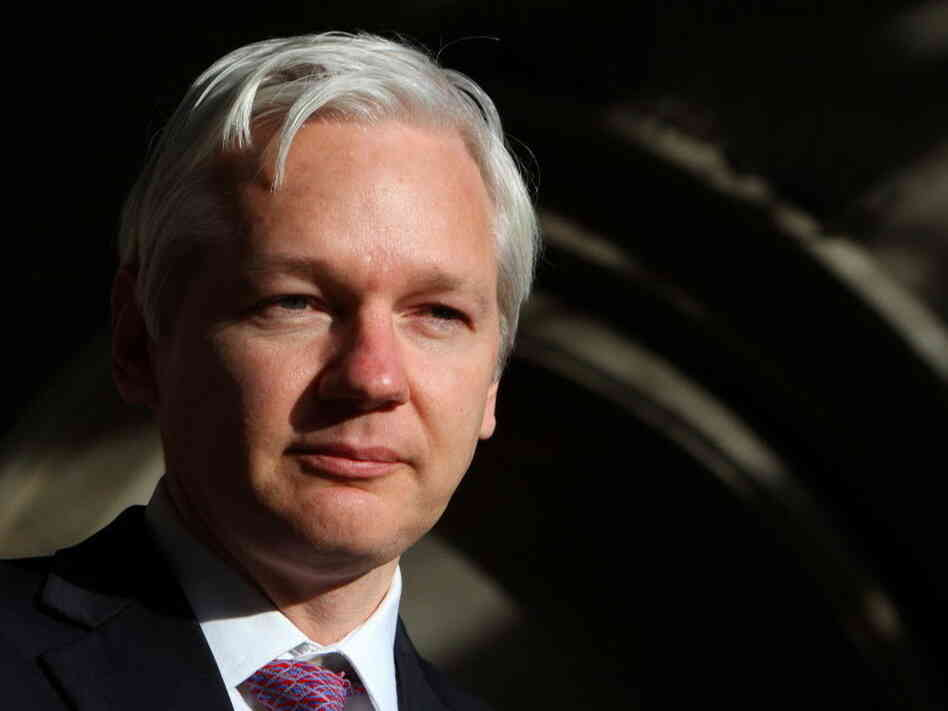 WikiLeaks founder Julian Assange last December.