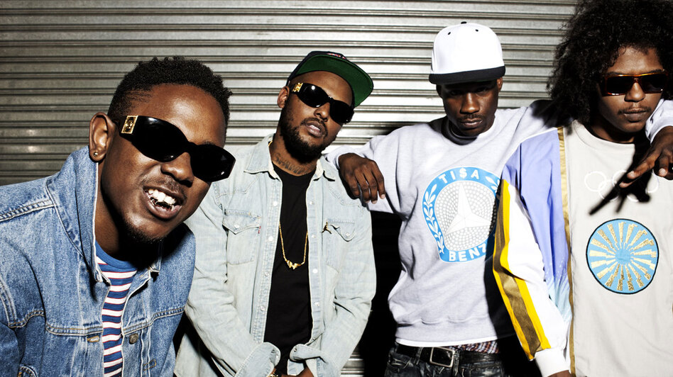 Black Hippy are (from left) Kendrick Lamar, Schoolboy Q, Jay Rock and Ab-Soul. (Courtesy of Top Dawg Entertainment)