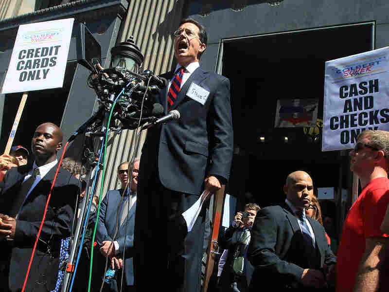 Comedian Stephen Colbert got permission from the Federal Election Commission last summer to launch his super political action committee.