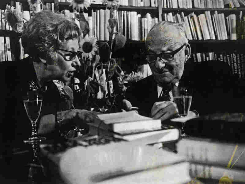 The author Max Brod was Kafka's friend, literary agent and biographer. Kafka wanted him to burn his papers upon his death. But Brod published some of the work and bequeathed the remainder to his secretary, Esther Hoffe (shown here).