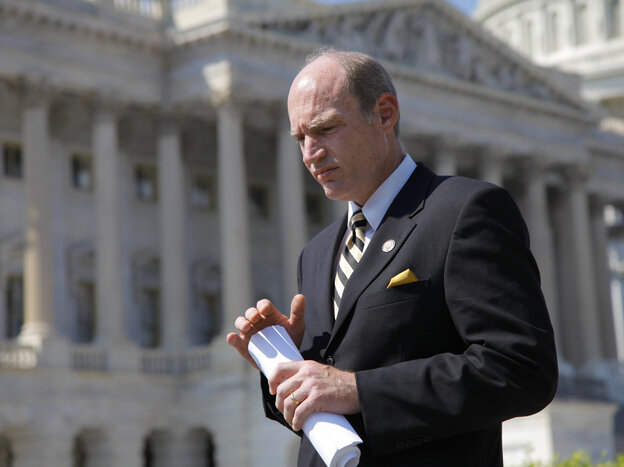 Rep. Thaddeus McCotter (R-Mich.) had the misfortune of being from a state that still requires signatures to get on the ballot.