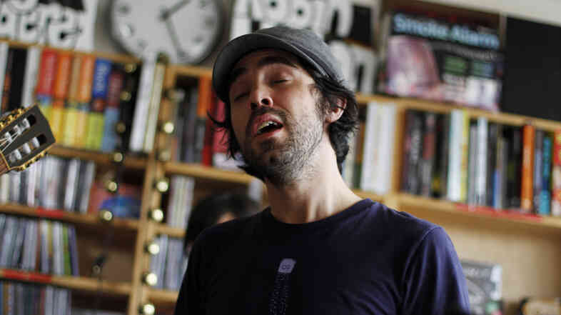Patrick Watson performs a Tiny Desk Concert at the NPR Music offices.