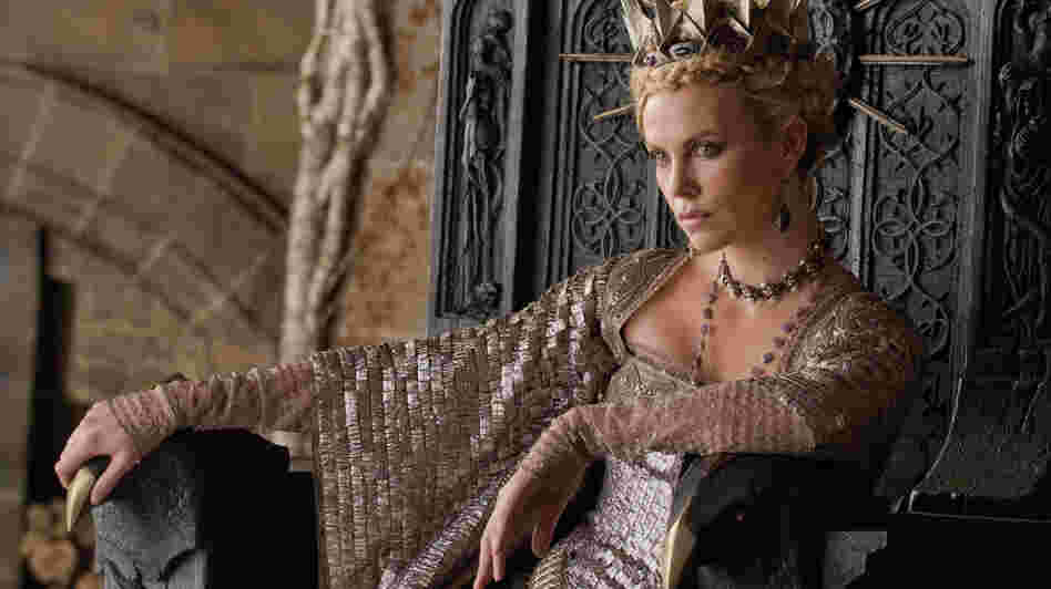 Dressed To Kill: Charlize Theron is a pointedly wicked Queen Ravenna in Snow White and the Huntsman.