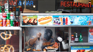 New York City food carts would also be affected by Mayor Michael Bloomberg's proposal to ban sugary drinks 16 oz. and larger.