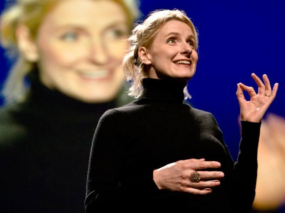 """There's a courageous leap that has to happen for anybody who's working in the creative field.""<em> — </em>TED Media Executive Producer June Cohen, on working with Elizabeth Gilbert in crafting her TEDTalk."