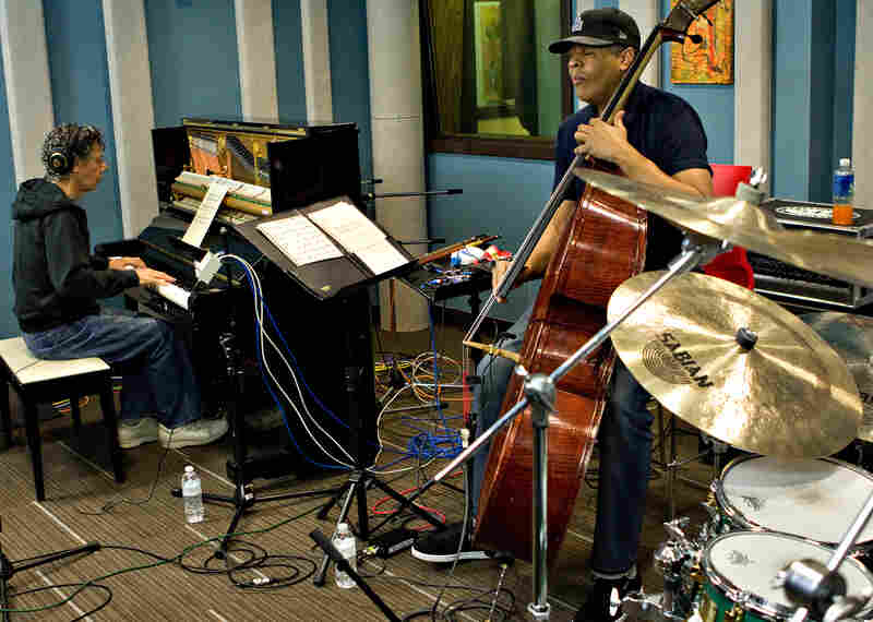 Chick Corea (left) and Stanley Clarke have been playing together since the early 1970s.
