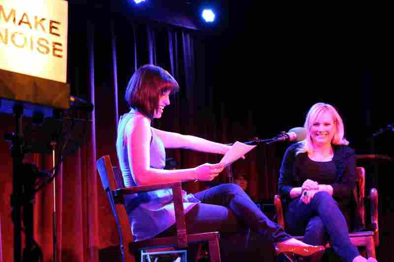 Meghan McCain sits down for an interview with Ask Me Another host Ophira Eisenberg at The Bell House in Brooklyn, NY.