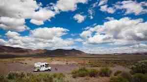 RVing off Highway 31, Oregon's Outback National Scenic Byway.