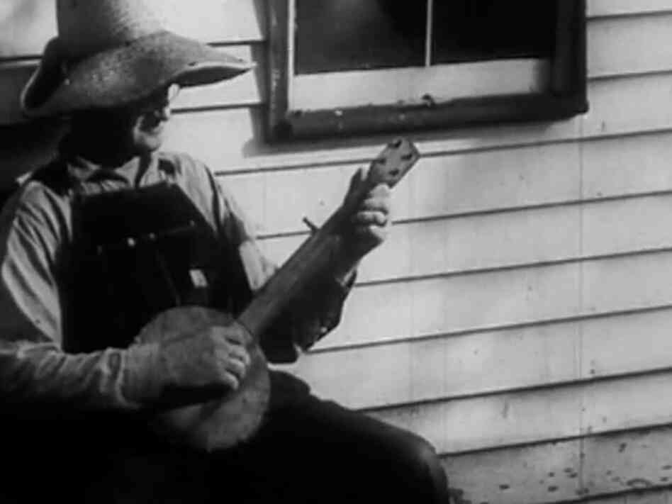A still from Neil Young's film, Americana.