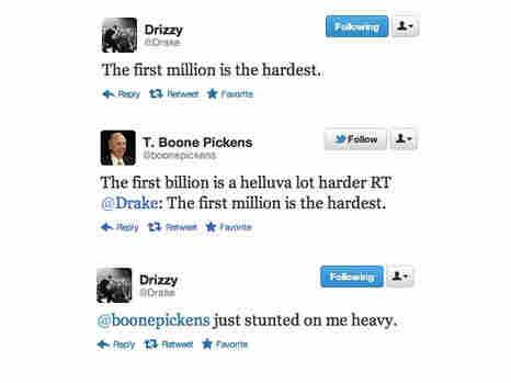 T. Boone Pickens vs. Drake