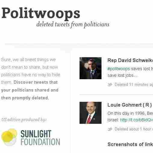 Politwoops.