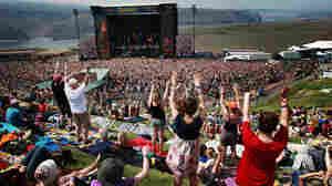 The dance party that erupted as Chromeo played the main stage at Sasquatch in May of 2011.