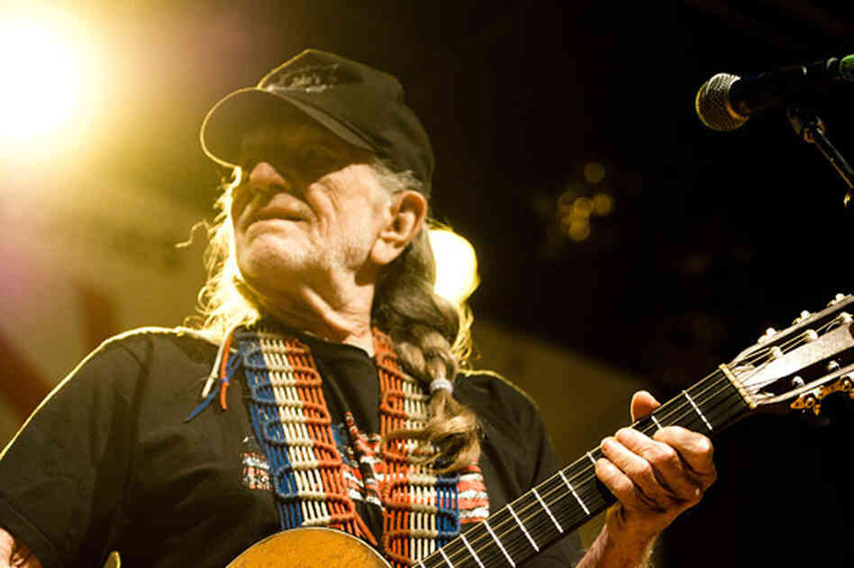 Willie Nelson performs during WXPN's Non-Commvention at World Cafe Live.