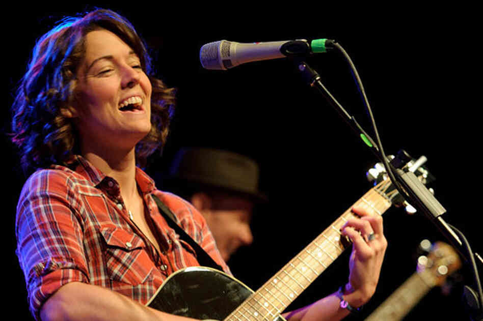 Brandi Carlile performs during WXPN's Non-Commvention at World Cafe Live.