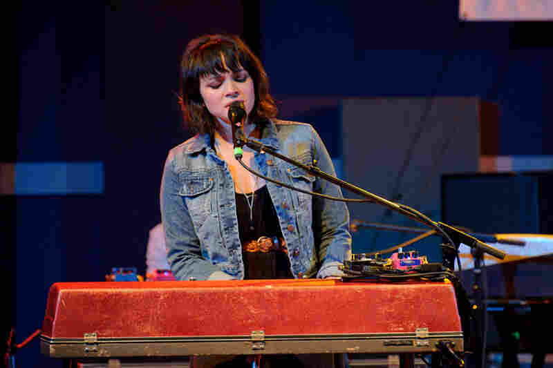 Norah Jones performs during WXPN's Non-Commvention at World Cafe Live.