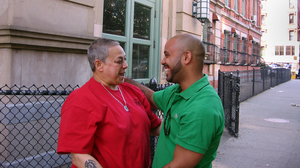 """Reyes credits his high school mentor """"Rocky"""" Rivera with guiding him out of trouble and into college."""