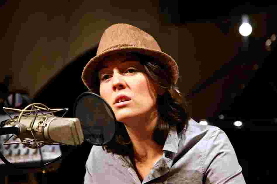 Brandi Carlile performs in NPR's Studio 4A.